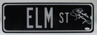 "Heather Langenkamp Signed ""A Nightmare on Elm Street"" 6x18 Street Sign (JSA COA) at PristineAuction.com"