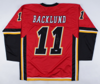 Mikael Backlund Signed Jersey (Beckett COA) (See Description) at PristineAuction.com