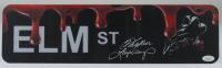 "Heather Langenkamp Signed ""A Nightmare on Elm Street"" 5x18 Street Sign (JSA COA) at PristineAuction.com"