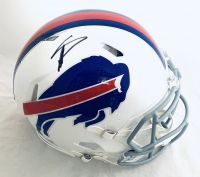 Stefon Diggs Signed Bills Full-Size Authentic On-Field Speed Helmet (Beckett Hologram) at PristineAuction.com