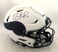 Randy Moss Signed Vikings Full-Size Authentic On-Field Lunar Eclipse Alternate SpeedFlex Helmet (Beckett Hologram) at PristineAuction.com