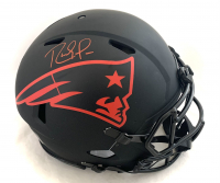 Randy Moss Signed Patriots Full-Size Authentic On-Field Eclipse Alternate Speed Helmet (Beckett Hologram) at PristineAuction.com
