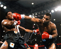 Mike Tyson Signed 16x20 Photo (Beckett COA) at PristineAuction.com