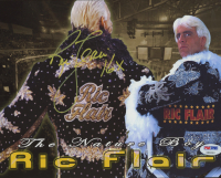 "Ric Flair Signed WWE 8x10 Photo Inscribed ""16x"" (PSA COA) at PristineAuction.com"