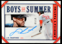 J.D. Martinez 2020 Panini America's Pastime Boys of Summer Gold #10 at PristineAuction.com