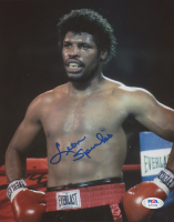 Leon Spinks Signed 8x10 Photo (PSA COA) at PristineAuction.com