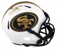 Patrick Willis Signed 49ers Full-Size Lunar Eclipse Alternate Speed Helmet (Beckett COA) at PristineAuction.com