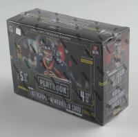 2020 Panini Playbook Football Purple Mega Box with (4) Packs at PristineAuction.com