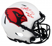 "Kyler Murray Signed Cardinals Full-Size Authentic On-Field Lunar Eclipse Alternate Speed Helmet Inscribed ""Rise Up Red Sea"" (Beckett COA) at PristineAuction.com"