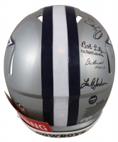"""Cowboys Full-Size Authentic On-Field Speed Helmet Signed by (11) with Roger Staubach, Tony Dorsett, Drew Pearson, Emmitt Smith Inscribed """"Ring of Honor"""" (Beckett Hologram & Prova COA) at PristineAuction.com"""