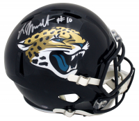 Laviska Shenault Jr. Signed Jaguars Full-Size Speed Helmet (Beckett Hologram & Prova Hologram) at PristineAuction.com