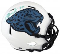 Laviska Shenault Signed Jaguars Full-Size Lunar Eclipse Alternate Speed Helmet (Beckett Hologram) at PristineAuction.com