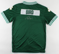 Larry Bird Signed Celtics Warm-Up Jacket (PSA COA) at PristineAuction.com