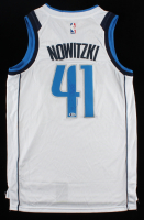 Dirk Nowitzki Signed Mavericks Jersey (Beckett COA) (See Description) at PristineAuction.com