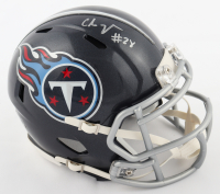 Chris Johnson Signed Titans Speed Mini Helmet (JSA COA) at PristineAuction.com