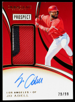 Jo Adell 2020 Immaculate Collection Prospect Patch Autographs #13 at PristineAuction.com