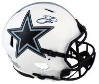 Emmitt Smith Signed Cowboys Full-Size Authentic On-Field Lunar Eclipse Alternate Speed Helmet (Beckett Hologram & Prova Hologram) at PristineAuction.com
