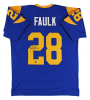Marshall Faulk Signed Jersey (Beckett Hologram) at PristineAuction.com