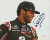Bubba Wallace Signed NASCAR 8x10 Photo (PSA COA) at PristineAuction.com