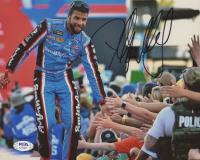 Bubba Wallace Signed NASCAR 8x10 Photo (PSA COA) at PristineAuction.com