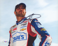 Jimmie Johnson Signed NASCAR 8x10 Photo (PSA COA) at PristineAuction.com