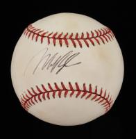Mo Vaughn Signed OAL Baseball (PSA Hologram) (See Description) at PristineAuction.com