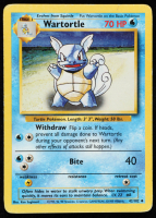 Wartortle 1999 Pokemon Base Set Unlimited #42 at PristineAuction.com