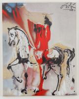 "Salvador Dali ""Christian Knight"" Limited Edition 8x10 Glazed Ceramic Tile at PristineAuction.com"