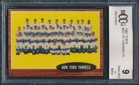 New York Yankees 1962 Topps #251 Team Card (BCCG 9) at PristineAuction.com