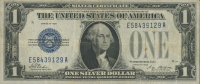 "1928 $1 One Dollar ""Funny Back"" Silver Certificate Bank Note at PristineAuction.com"