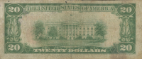 1929 $20 Twenty Dollar U.S. Federal Reserve Bank Currency Brown Seal Bank Note at PristineAuction.com