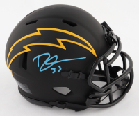 Derwin James Signed Chargers Eclipse Alternate Speed Mini Helmet (Beckett COA) at PristineAuction.com