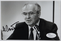 Mikhail Gorbachev Signed 4x6 Photo (JSA COA) at PristineAuction.com