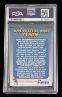 Mike Tyson Signed Mike Tyson / Evander Holyfield 1992 Kayo Holograms #10 (PSA Encapsulated) at PristineAuction.com
