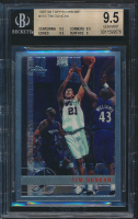 Tim Duncan 1997-98 Topps Chrome #115 RC (BGS 9.5) at PristineAuction.com