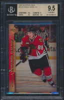Patrick Kane 2007-08 Upper Deck #210 Young Guns RC (BGS 9.5) at PristineAuction.com