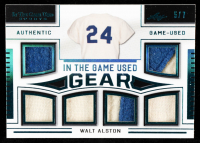 Walt Alston 2020 ITG Used Sports Used Gear Platinum Blue Spectrum #ITGUG21 at PristineAuction.com