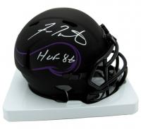 "Fran Tarkenton Signed Vikings Eclipse Alternate Speed Mini Helmet Inscribed ""HOF '86"" (JSA COA) at PristineAuction.com"