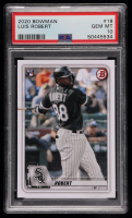 Luis Robert 2020 Bowman #18 RC (PSA 10) at PristineAuction.com
