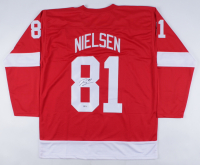 Frans Nielsen Signed Jersey (Beckett COA) at PristineAuction.com