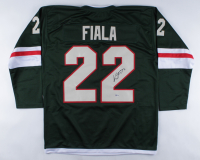 Kevin Fiala Signed Jersey (Beckett COA) at PristineAuction.com