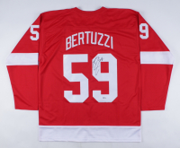 Tyler Bertuzzi Signed Jersey (Beckett COA) at PristineAuction.com