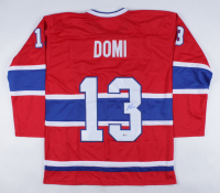 Max Domi Signed Jersey (Beckett COA) (See Description) at PristineAuction.com