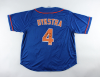 """Lenny Dykstra Signed Jersey Inscribed """"86 W.S. Champs"""" (JSA COA) at PristineAuction.com"""