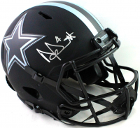 Dak Prescott Signed Cowboys Full-Size Authentic On-Field Eclipse Alternate Speed Helmet (Beckett Hologram) at PristineAuction.com