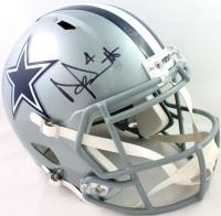 Dak Prescott Signed Cowboys Full-Size Speed Helmet (Beckett Hologram) at PristineAuction.com