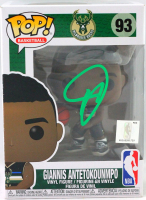 Giannis Antetokounmpo Signed Bucks #93 Funko Pop! Vinyl Figure (Beckett COA) at PristineAuction.com