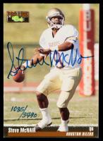 Steve McNair 1995 Classic Five Sport Autographs #45 at PristineAuction.com