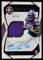 Dalvin Cook 2019 Limited Material Monikers #13 at PristineAuction.com