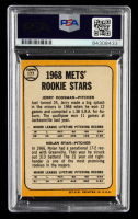 """Nolan Ryan Signed 1968 Topps #177 Rookie Stars Inscribed """"324 Wins"""", """"5,714 K's"""" & """"7 No Hitters"""" (PSA Encapsulated) at PristineAuction.com"""